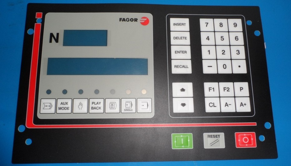 все цены на CNC101 FAGOR Membrane Keypad for CNC system 90 days warranty, Fast Shipping онлайн