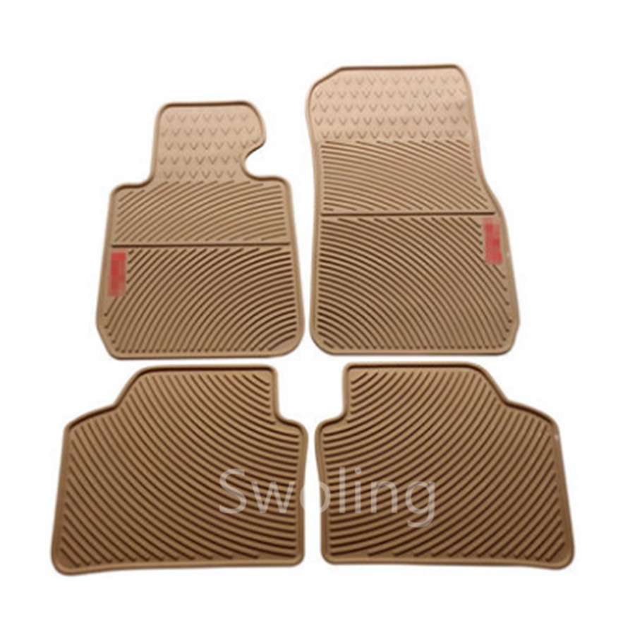 For BMW X3 2011 2012 2013 High Quality Waterproof Anti Skip Latex Durable Carpets Special Rubber Car Floor Mats