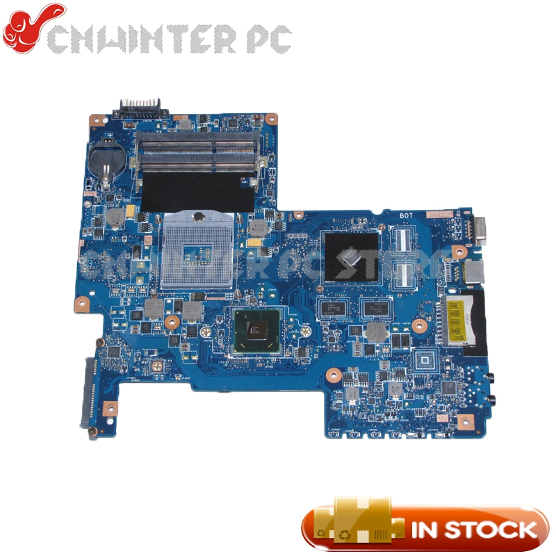 NOKOTION H000033490 Main Board For Toshiba Satellite C670 C670-17D Laptop Motherboard HM65 DDR3 GT315M Video Card nokotion for toshiba satellite laptop motherboard c600 v000238100 6050a2448001 mb a01 hm65 gt315m ddr3