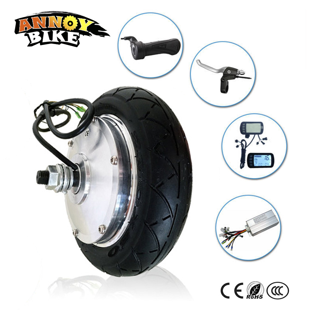 Brushless Gear Motorized Hub Motor 824V 36V 48V 250W 350W Wheel Motor Kit Electric Scooter Electric Bicycle Conversion Kit 8 350w 48v brushless non gear hub motor wheel motor wheel electric scooter electric skateboard motor wheel