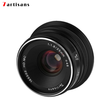 7artisans 25mm / F1.8 Prime Lens to All Single Series for Sony E Mount /Canon EOS-M Mount/Fuji FX Mount /M43 Panasonic Olympus