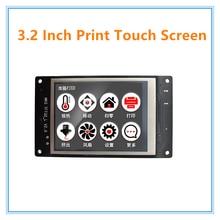 3D Принтер части МКС TFT32 V2.0 смарт контроллер дисплея 3.2 дюймов сенсорный экран поддержка APP/BT/редактирование МКС smoothieboard