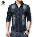 Hot Sale Men Denim Jackets 2016 Spring Autumn New Men's Fashion Denim Jacket Korean Men Slim Jeans Outerwear Casual Coats Men