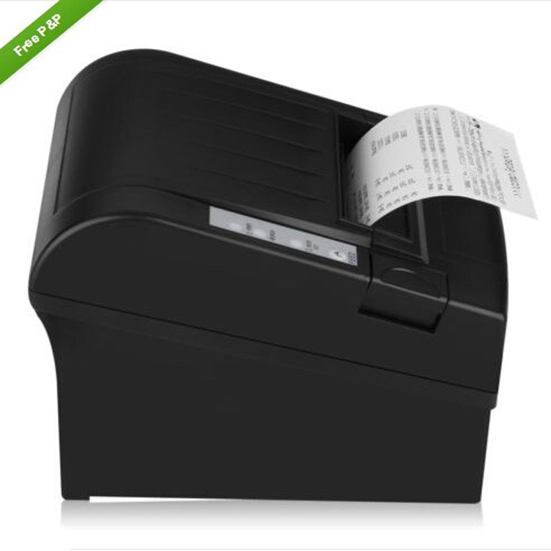 5PCS Wireless 80mm thermal receipt printer pos printer wifi printers with Auto Cutter _DHL 80mm pos receipt printer with bluetooth wifi