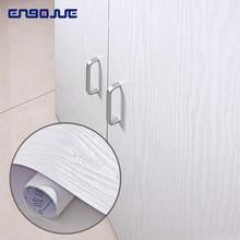 0.4x5 m ויניל עץ עצמי דבק טפט PVC עמיד למים ארון טלוויזיה בסלון בית תפאורה ריהוט ארון דלת קיר מדבקות