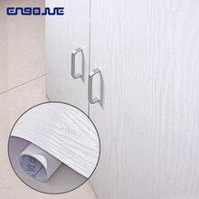 0,4x5 mt Vinyl Holz Selbst Klebe Tapete PVC Wasserdichte Wohnzimmer TV Schrank Hause Decor Möbel Schrank Tür wand Aufkleber