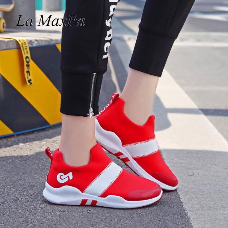 Style Automne Femmes 2018 Été Black Sport Taille 40 Vulcaniser grey Rue Harajuku Femme 35 red white Étudiants Nouveau Chaussures Bxx8qY