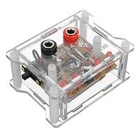 AD584 4 канала 2,5 V/7,5/5В/10В высокой точности Напряжение Ссылка Модуль с прозрачным Корпус