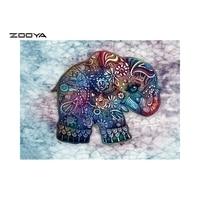 ZOOYA 5D DIY Diamond Embroidery Elephant Pattern Diamond Painting Cross Stitch Full Square Round Mosaic Rhinestone