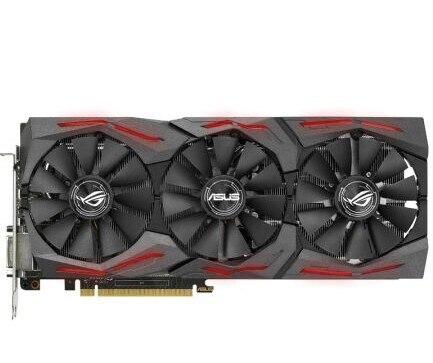 ROG-STRIX-GTX1070-O8G-GAMING Raptor VR Game Graphics OC used 90%new
