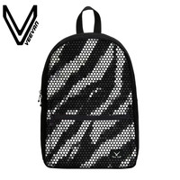 VEEVANV Brand 2017 New 3D Printing Leopard Shoulder Bags Casual Students Backpacks Fashion Thermal Transfer Pringting