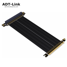 Купить с кэшбэком PCI-e x16 Riser Gen3.0 For CM VGA Cooler Master vertical graphics card holder kit ITX Motherboard Casing PCIe 16x Extender Cable