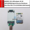 JINYUSHI для ME909S-120 + Pcie к USB карте передачи 100% новый и оригинальный мини PCIe FDD LTE 4G WCDMA GSM поддержка GPS модуль