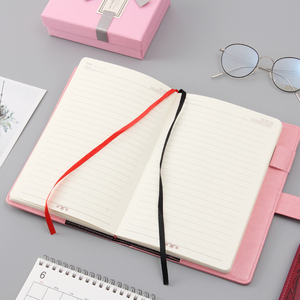 Image 4 - A5 password lock notebook 4 colors retro gold lock girl thickening personal diary book with lock office password book custom
