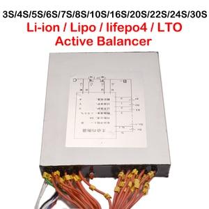 Image 2 - 3а литий ионная Lipo Lifepo4 фосфатная активная балансировочная плата BMS балансировочный эквалайзер 3S Φ 7S 8S 10S 13S 16S 24S 30S