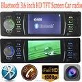 4.1 '' TFT HD jogador polegadas rádio do carro tela, 4016C, aux SD USB no rádio filme 1080P com controle remoto, 1 din mp5 áudio do carro de som