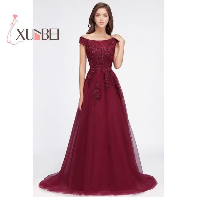 Aliexpress.com : Buy Robe de Soiree 3D Floral Print Long Burgundy ...