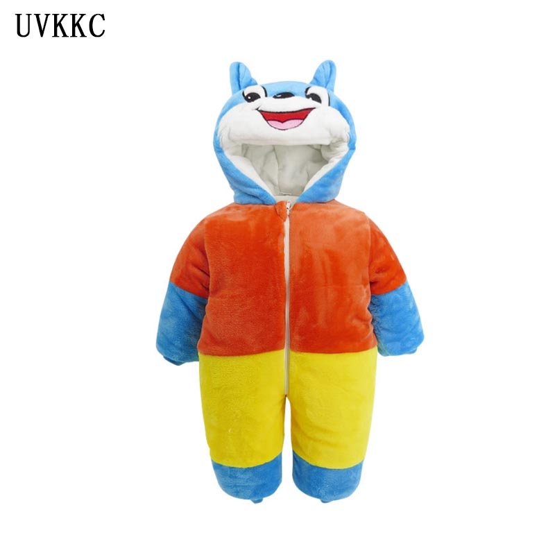 UVKKC Sleeping bag Baby girl Rompers Cotton Newborn Jumpsuit long sleeve Baby Costume Cartoon roupas de bebe menino for 6-18M 100% cotton long sleeve baby rompers 3 pieces lot spring autumn newborn bebe jumpsuit infant boy girl cartoon clothes tops