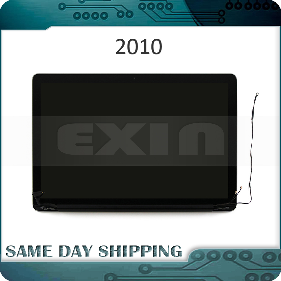 New font b Laptop b font Glossy A1286 LCD Screen Assembly 2010 Year for Apple Macbook