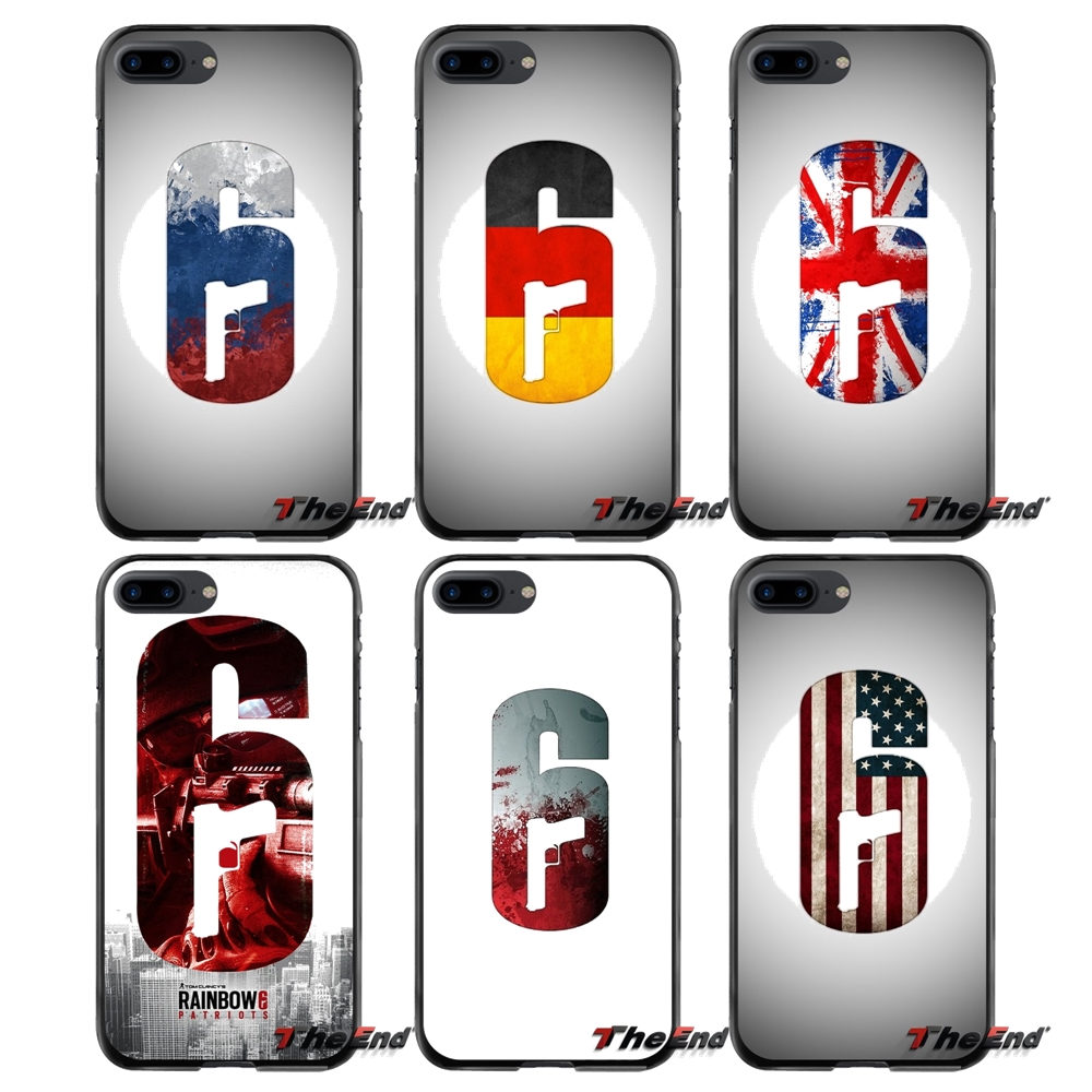 Rainbow six siege operation flag accessories phone case - Rainbow six siege phone ...
