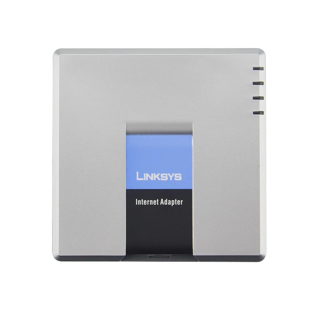 Livraison gratuite! passerelle voip linksys déverrouillée SPA3000 voix sur IP FXS FXO adaptateur Voip IP PBX FXS passerelle pas de boîte de vente au détail