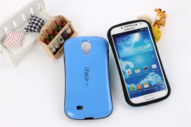 High quality iFace Case For Samsung Galaxy SIV S4 i9500;Free shipping with retail package,30pcs/lot