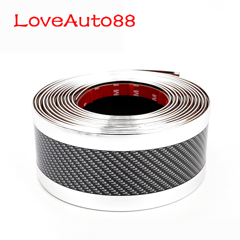 Image 4 - Car Bumper Strip  Door Sill Protector Edge Guard Car Stickers  Car Styling Accessories  For audi a3 a4 a5 a6 a7 a8 q3 q7-in Styling Mouldings from Automobiles & Motorcycles