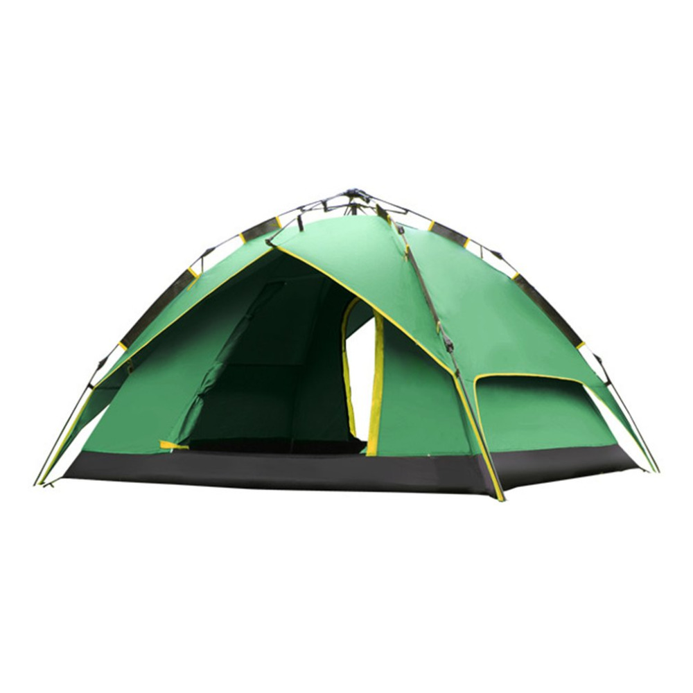 DESERTCAMEL CS099 Three-used Automatic Air Pressure Type Tent Portable Rainproof Tent Double Layers Outdoor Tent