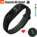 In stock Original Xiaomi Mi Band 2 Smart Bracelet Wristband OLED Heart Rate Monitor Fitness Tracker ships out within 3 days