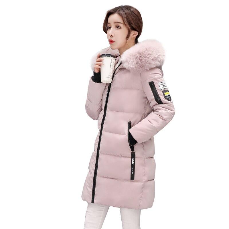Green Plus Chaud Survêtement bean Femmes Pink Belle gray D'hiver Manteau Veste Longue Dames black Taille Parka Jaqueta Grande Feminina Femelle Mince HvRwq0dwA