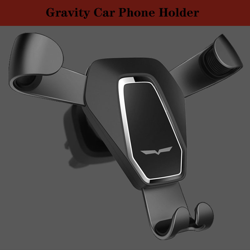 Vmonv Gravity Car Phone Holder For iPhone X XS Max XR Air Outlet Mount Cell Smartphone Stand For Samsung S9 OPPO Phone Stand