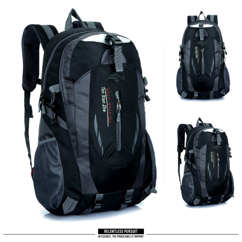 Backpacks Men bag Mountaineering backpack nylon waterproof Travel bags Casual Men&Women bag High capacity Laptop backpack Brand цена