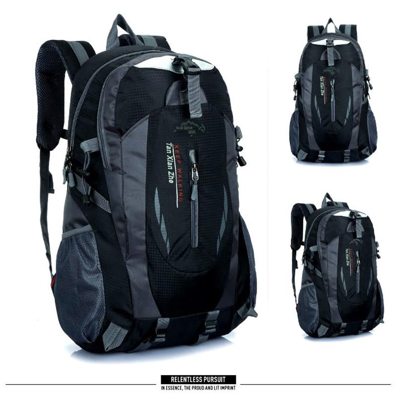 Backpacks Men Bag Mountaineering Backpack Nylon Waterproof Travel Bags Casual Men&Women Bag High Capacity Laptop Backpack Brand