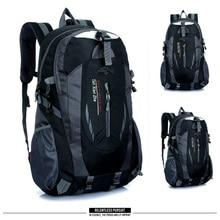 Backpacks Men bag Mountaineering backpack nylon waterproof Travel bags Casual Men&Women bag High cap