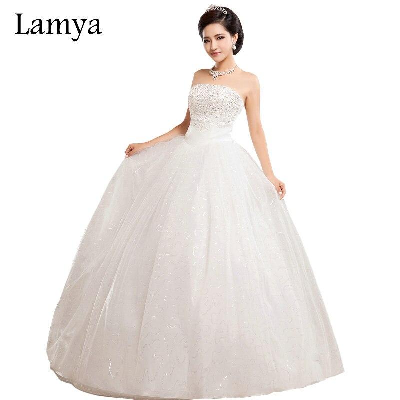 LAMYA Plus Größe Modische Sexy Kristall Ballkleider Frauen Long ...