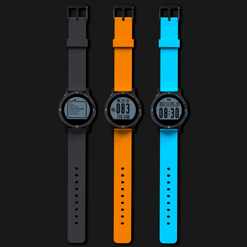 Makibes Aerobic A1 IP67 Waterproof Smart Band Sports Smart Watch Heart Rate Moni