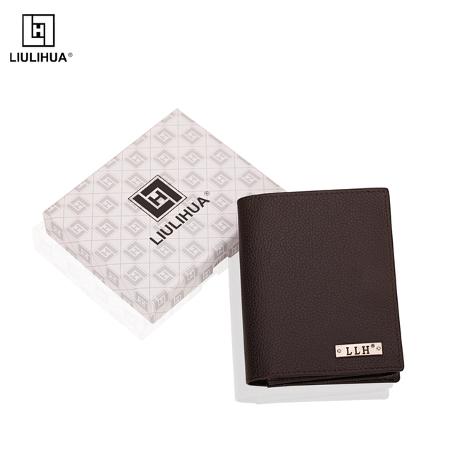 LLH alibaba suppiler factory direct leather wallet for men