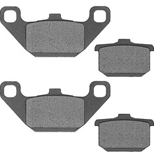 For Kawasaki VN 750 A Vulcan VN750 VN750A 1986-1997 1998 1999 2000 2001 2002 2003 2004 2005 2006 Motorcycle Brake Pads Front L+R