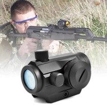 Красный точечный прицел 20 мм крепление пистолетный прицел оптика Riflex охотничьи оптические прицелы Red Dot страйкбол воздушные пистолеты прицелы голографический прицел