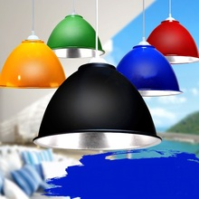 FREE SHIPPING EMS and mining lamp cover lamp supermarket lamp red black blue fruit and vegetable pendant light FG672