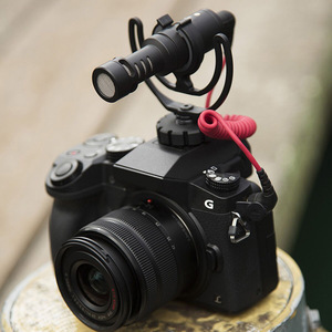 Image 5 - מצלמה חמה נעל הלם הר עם Rycote נבל סוגר עבור Rode VideoMicro VideoMic לי מיקרופון DU55