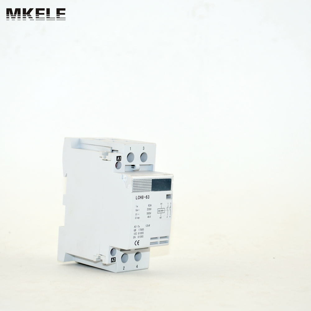 reliable certified single phase electrical contactor mk hac8 63 63a rh aliexpress com contactor relay wiring [ 1000 x 1000 Pixel ]