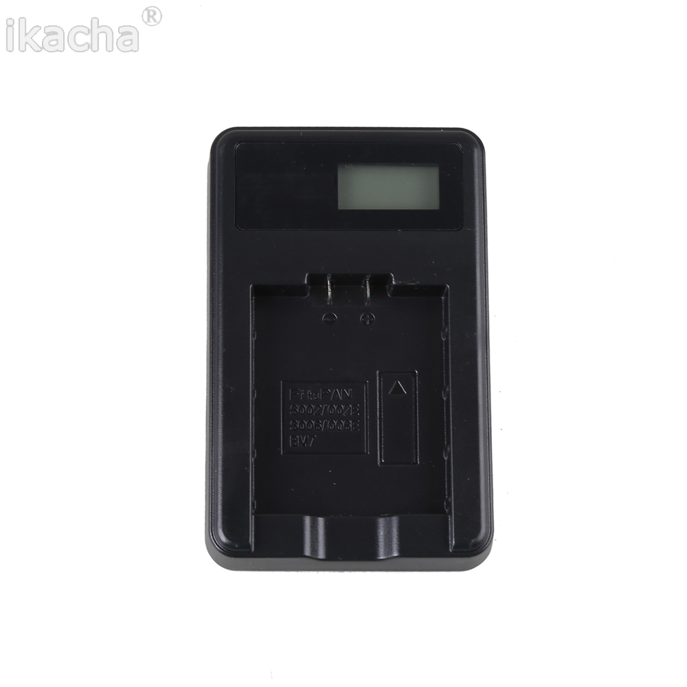 ikacha DMW-BCM13E DMW-BCM13 BCM13 LCD USB Camera Battery <font><b>Charger</b></font> For Panasonic Lumix ZS40 TZ60 ZS45 TZ57 ZS50 TZ70 ZS27 TZ37