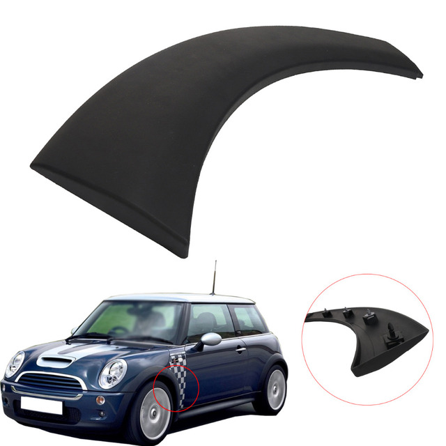 Wheel Arch Trim Strip Decoration Cover On Fender Front Left For Mini