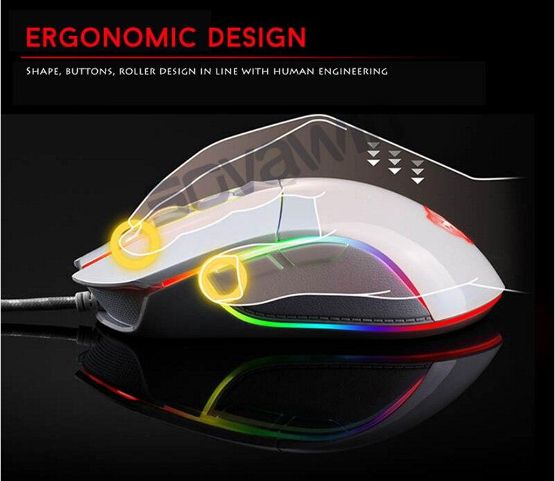 botão óptico retroiluminado respirar led usb mouse