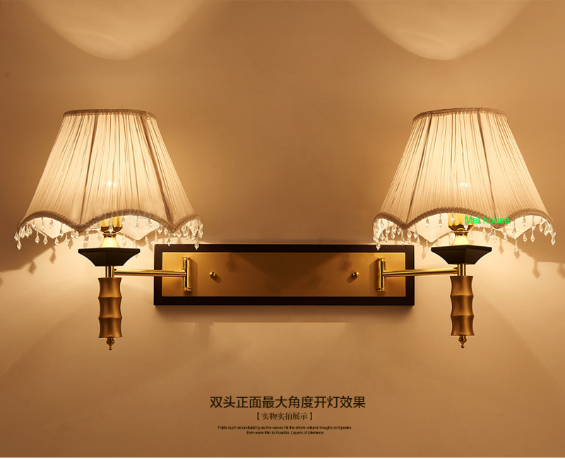 Camera d albergo lampada da parete lampade da comodino led moderni