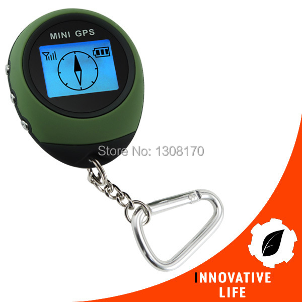 Digital Mini GPS Receiver Outdoor and Location Finder Navigator + 24 POI Memory Sport Hiking Camping Biking Travel GPS Tracker