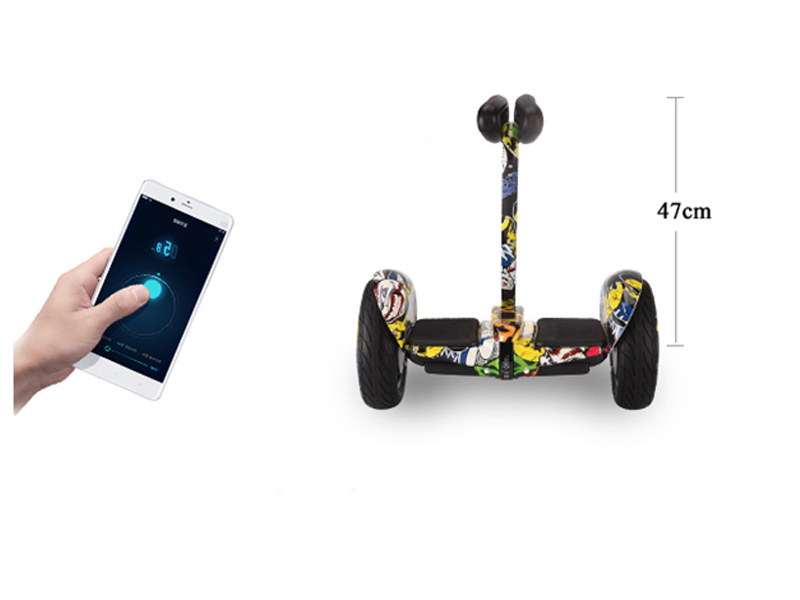 inteligente hoverboard duas rodas controle do telefone mini placa hover