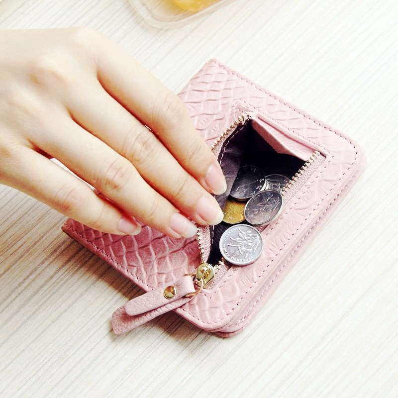 carteira tamanho pequeno bolso com Hardness : Soft PU Leather Girl's Wallet, Women Bag, Student Purses, Card Holders