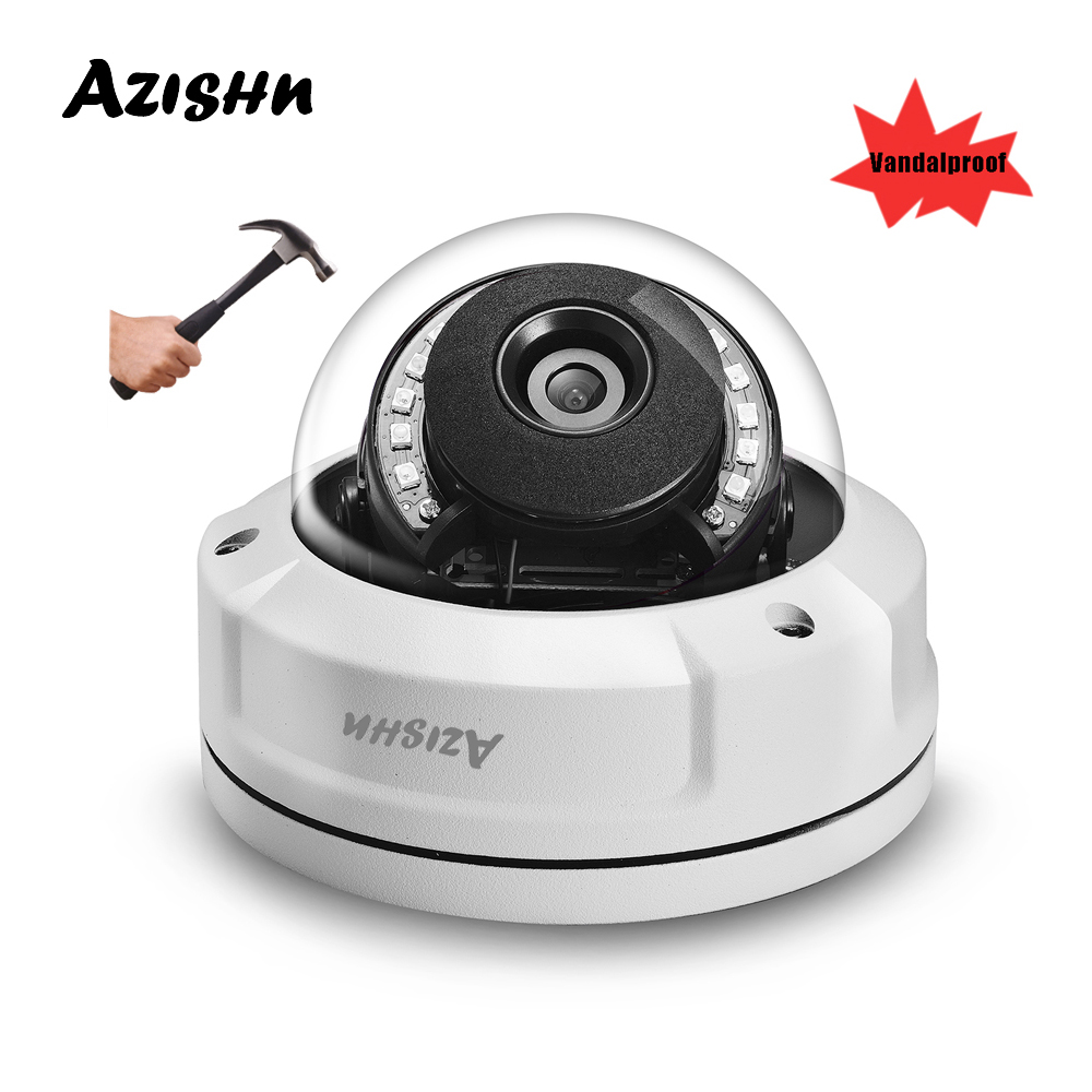 "AZISHN Explosion proof H.265 5MP 1/2.8""SONY IMX335 IP Camera ONVIF PTP Alert 12IR LEDS metal waterproof RTSP XMEye  CCTV Camera-in Surveillance Cameras from Security & Protection"